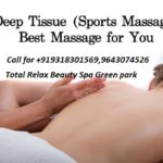 Deep tissue massage in Delhi