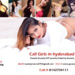Book Hyderabad Escorts 8142734111 | Call girls in Hyderabad